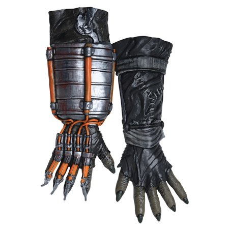 Adult Scarecrow Arkham Knight Deluxe Gloves - image 1 of 1