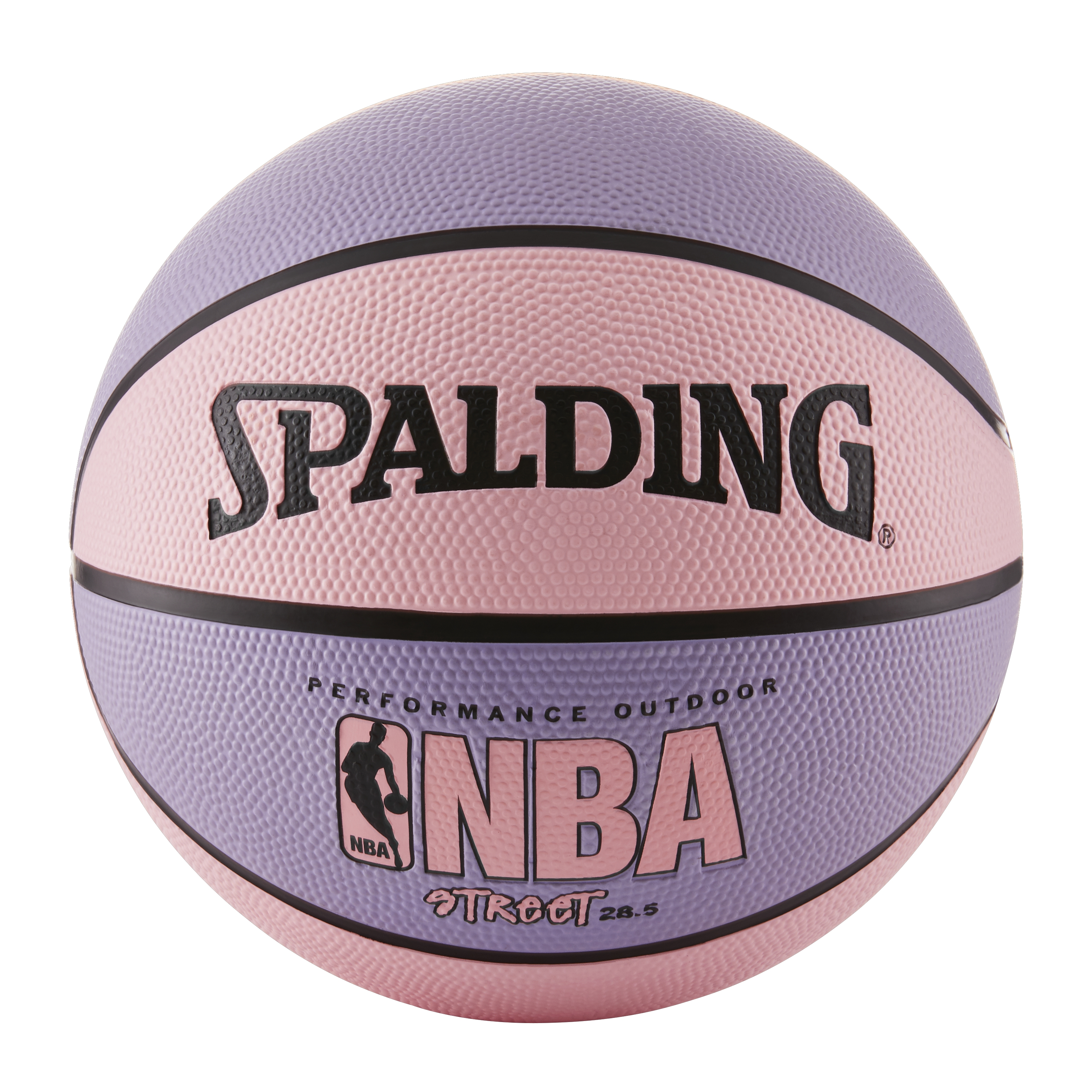 "Spalding NBA Street 28.5"" Basketball - Pink/Purple"