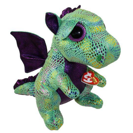 Ty Beanie Boos Cinder The Green Dragon Plush - Walmart.com 2377ddf7e35