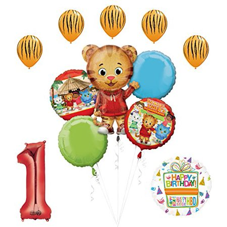 The Ultimate Daniel Tiger Neighborhood 1st Birthday Party (1st Year Birthday Party Ideas For A Boy)