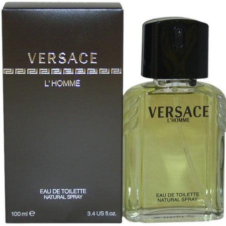 998b0d73e61 Versace - 2 Pack - Versace L Homme Eau de Toilette Spray For Men 3.3 oz -  Walmart.com