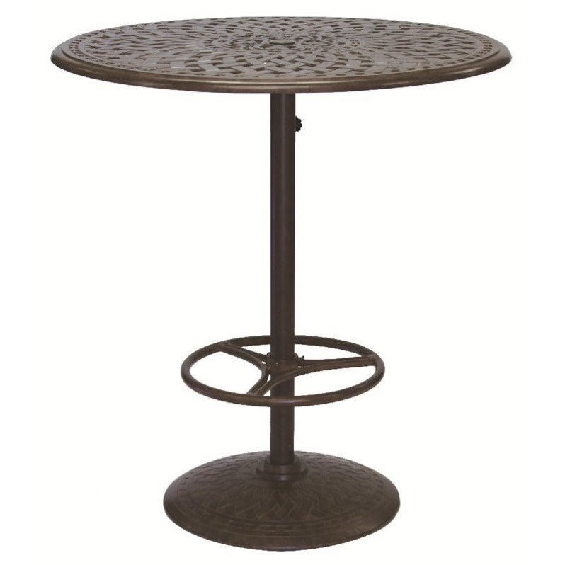 "Darlee 42"" Round Patio Pedestal Pub Table by Darlee"