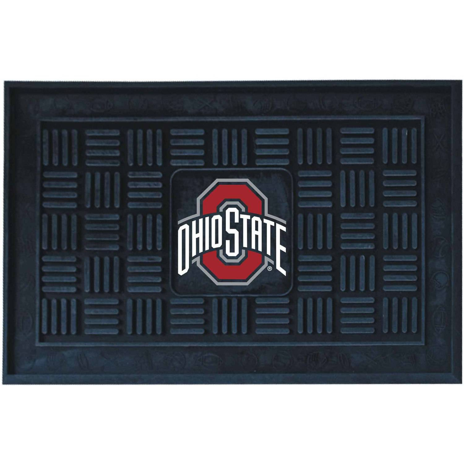 Ohio State University Medallion Door Mat