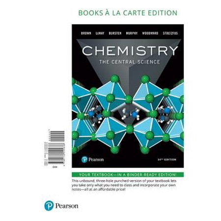 Chemistry : The Central Science, Books a la Carte Edition