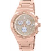 Swatch Men's Irony YOG408G Rose Gold Stainless-Steel Swiss Quartz Watch