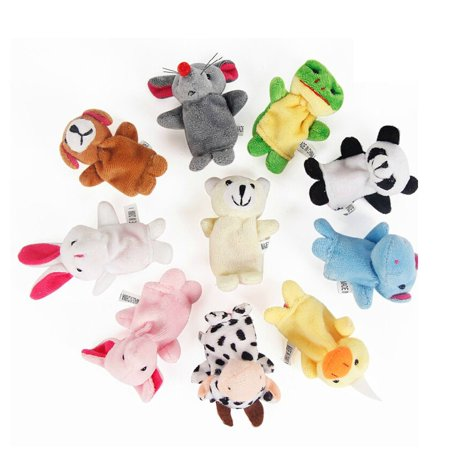 JOYFEEL Clearance 2019 10Pcs Double Foot Animal Finge Puppets Lovely For Kids Best Toy Gifts for Children Kids