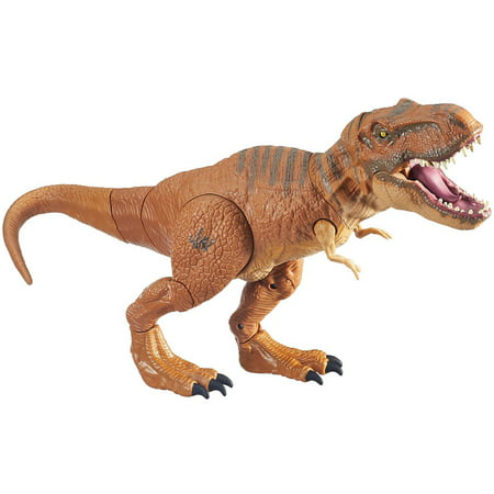 Jurassic World Stomp and Strike Tyrannosaurus Rex Figure - T Rex Model
