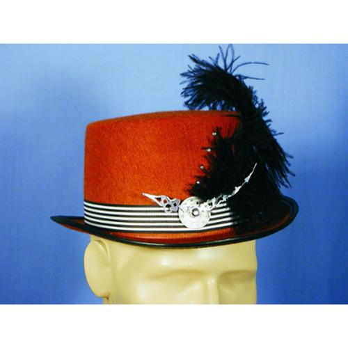 Steampunk Rust Costume Top Hat