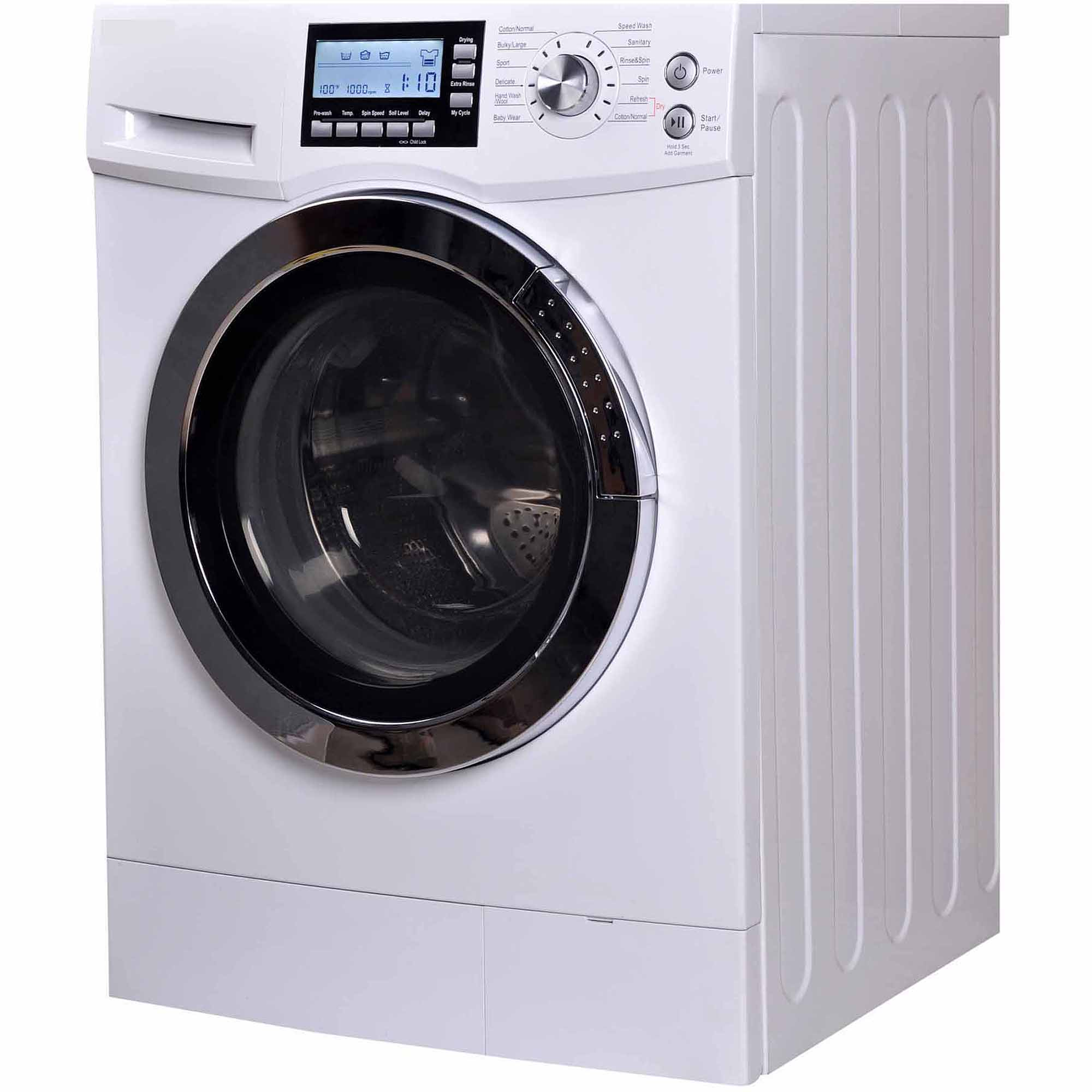 Lg 2 3 cu ft all in one washer and dryer - Rca 2 0 Cu Ft Front Loading Combo White
