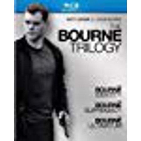 The Bourne Trilogy (The Bourne Identity / The Bourne Supremacy / The Bourne Ultimatum) [Blu-ray] (Identity Blu Ray)