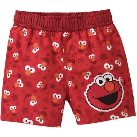 Newborn Baby Boys' Elmo Swim - Elmo Finds A Baby Bird