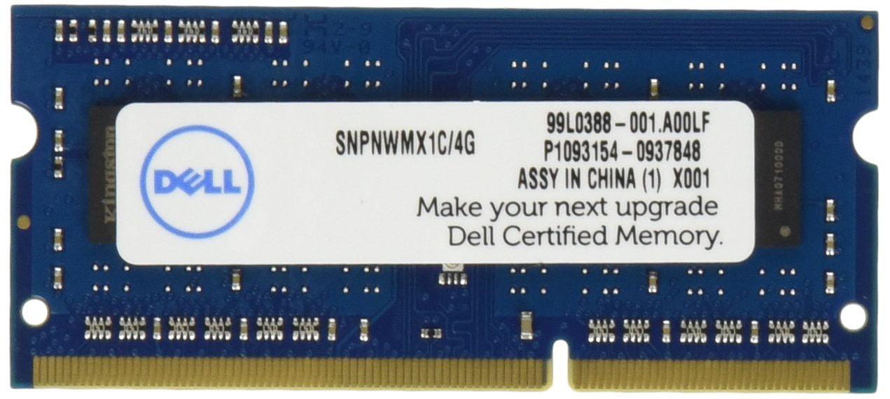 Dell 4GB Certified Memory Module - DDR3 SODIMM 1600MHz LV