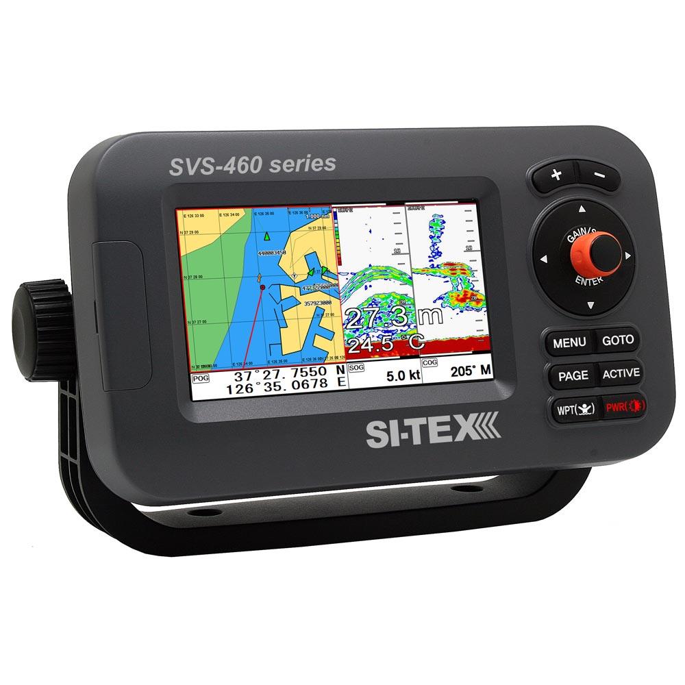 "Sitex/koden 16133642 Si-tex Svs-460ce Chartplotter - 4.3"" Color Screen W/external Gps & Navionics+ Flexible Coverage"