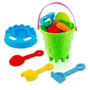 15Pcs/Set Fun Water Beach Sand Bucket Gaming Toys Gifts for Kids Boys Girls Toddlers