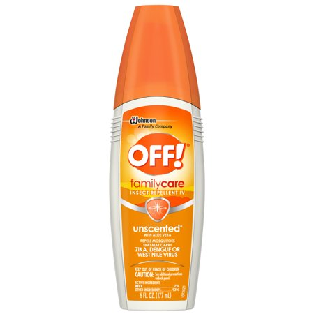 OFF! FamilyCare Insect Repellent IV, Unscented, 6 oz (1