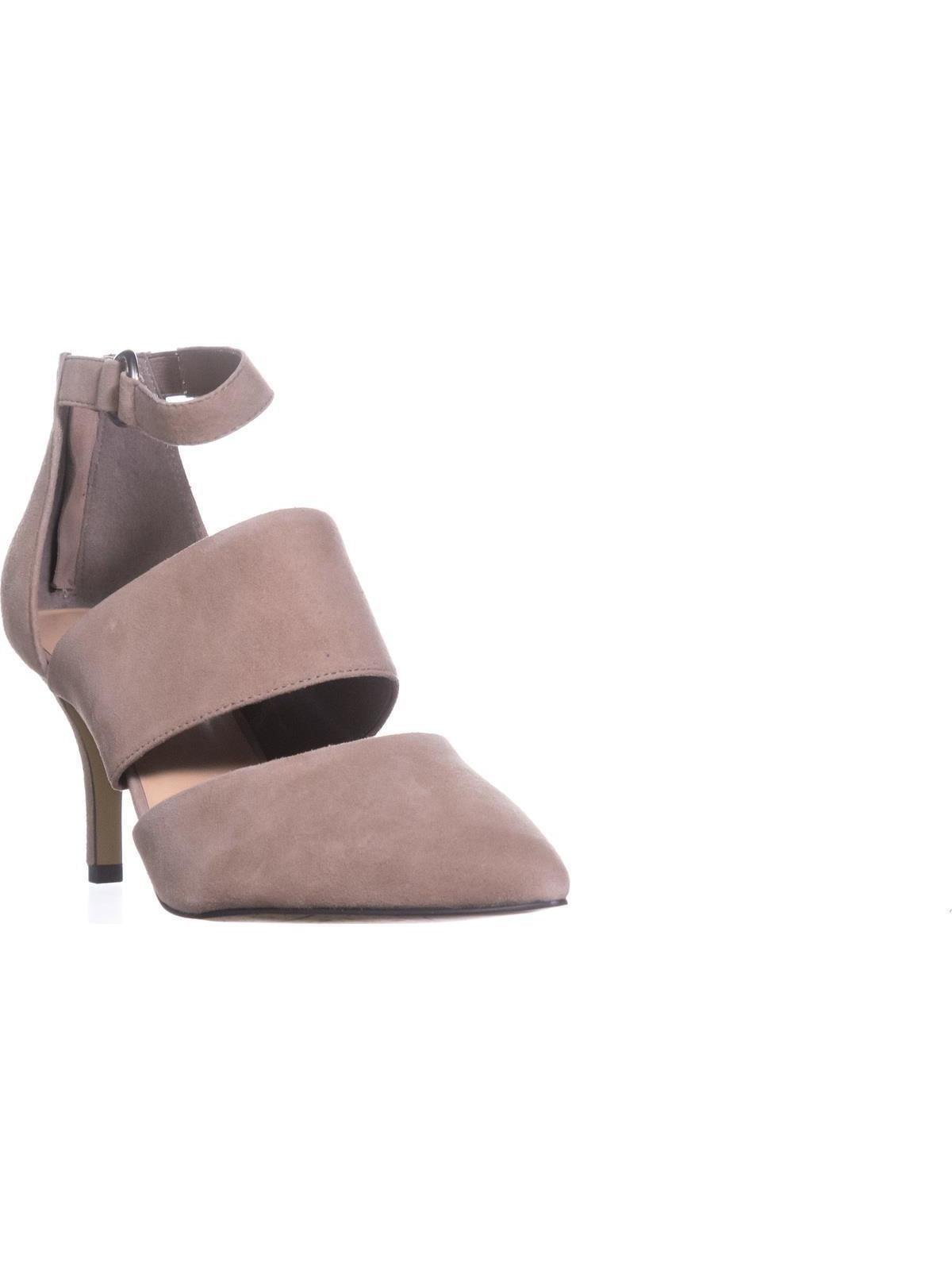 Womens Bella Vita Diana Ankle Strap Pumps, Almond by Bella Vita