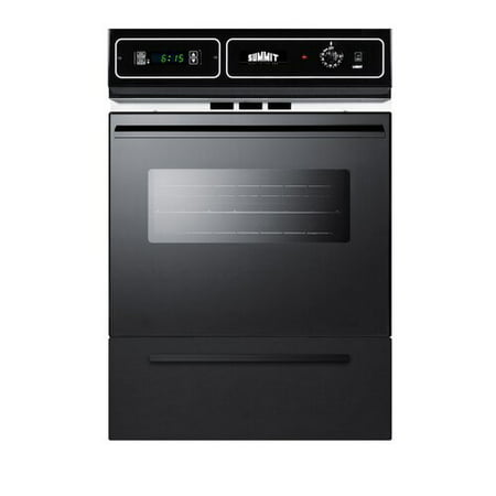 Summit Appliance Summit 24'' Gas Single Wall Oven (Gas Slide In Oven)
