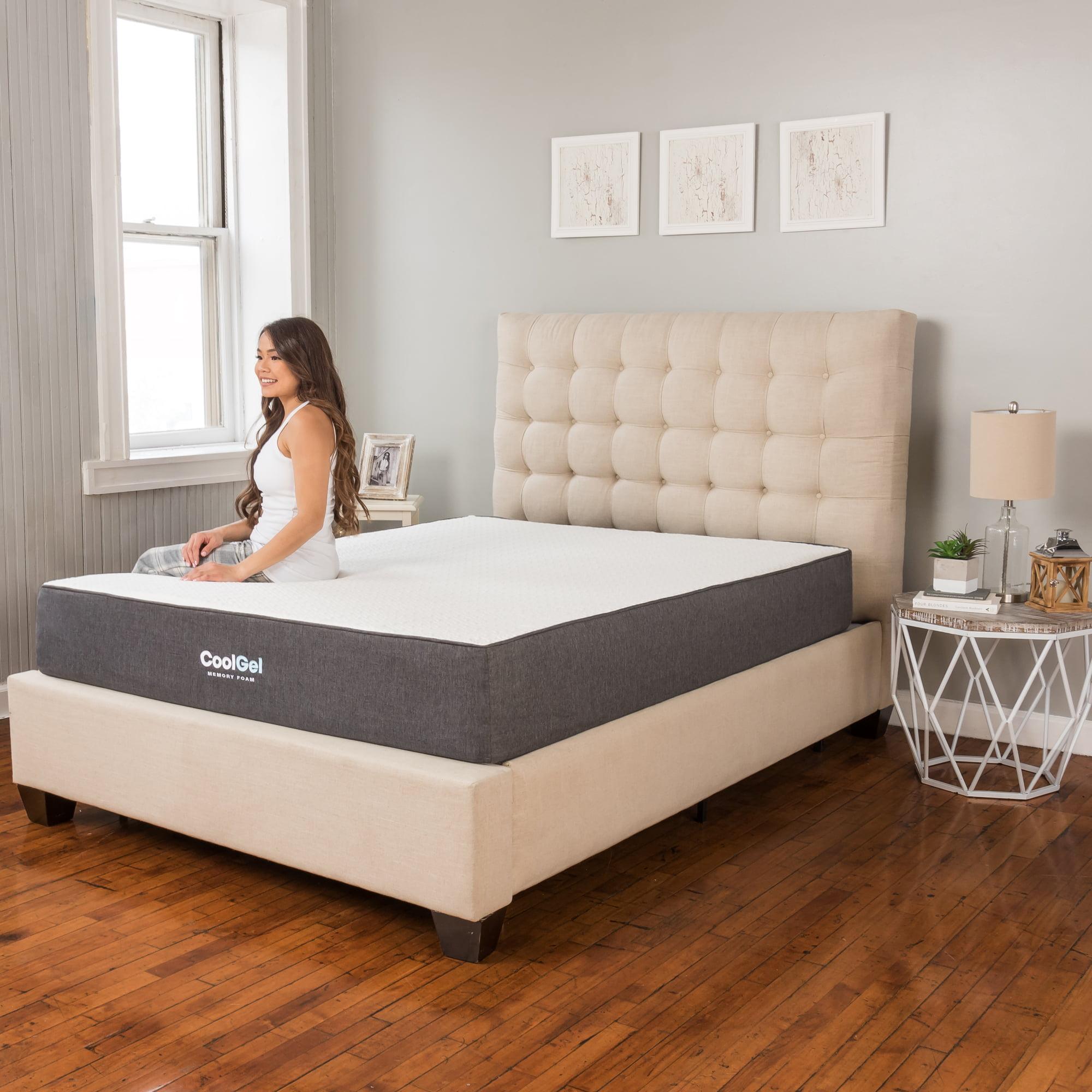 Modern Sleep Cool Gel Ventilated Gel Memory Foam 10.5-Inch Mattress with  BONUS Conforma Memory Foam Pillow - Walmart.com
