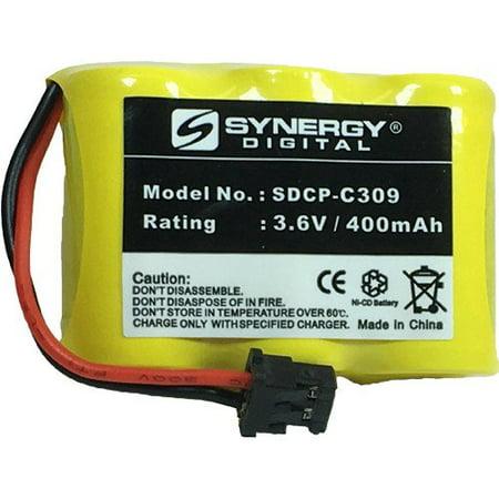Interstate Batteries TEL0100 Repl. Crdls Phone Battery - Ni-CD, 3.6 Volt, 400mAh