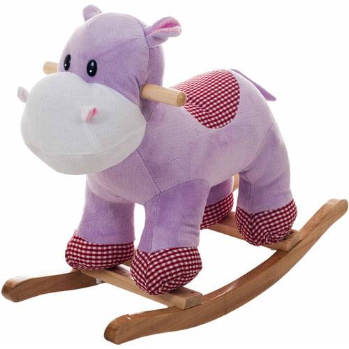 TRADEMARK GAMES INC Happy Trails Plush Rocking Henrietta the Hippo
