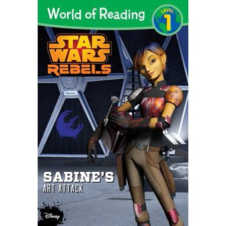 World of Reading Star Wars Rebels Sabine's Art Attack : Level 1 (Art Attack Halloween Special English)