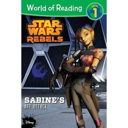 World of Reading Star Wars Rebels Sabine's Art Attack : Level 1 - Art Attack Halloween Ideas