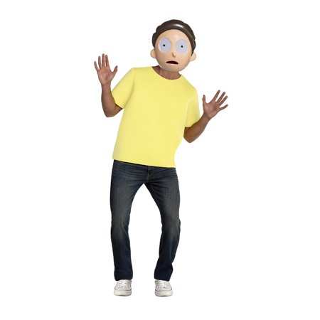 Rick and Morty Morty Men's Costume - X-Large 50 - image 1 de 1
