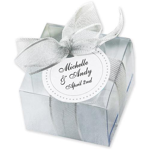 Wilton Wedding Favor Box Kit Clear