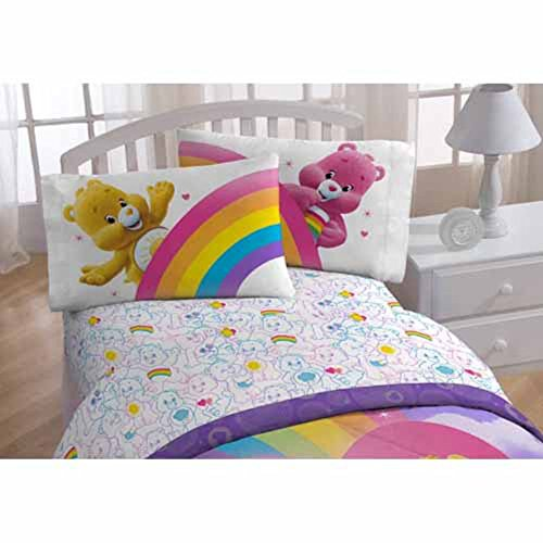 Nursery Decor Cat Pillowcase Embroidered Child/'s Pillowcase Children/'s Bedding with Cats in a Hot Air Balloon