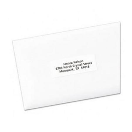 Avery-Dennison 95915 Easy Peel Laser or Inkjet Address Labels, White - 1 x 2.6 in.