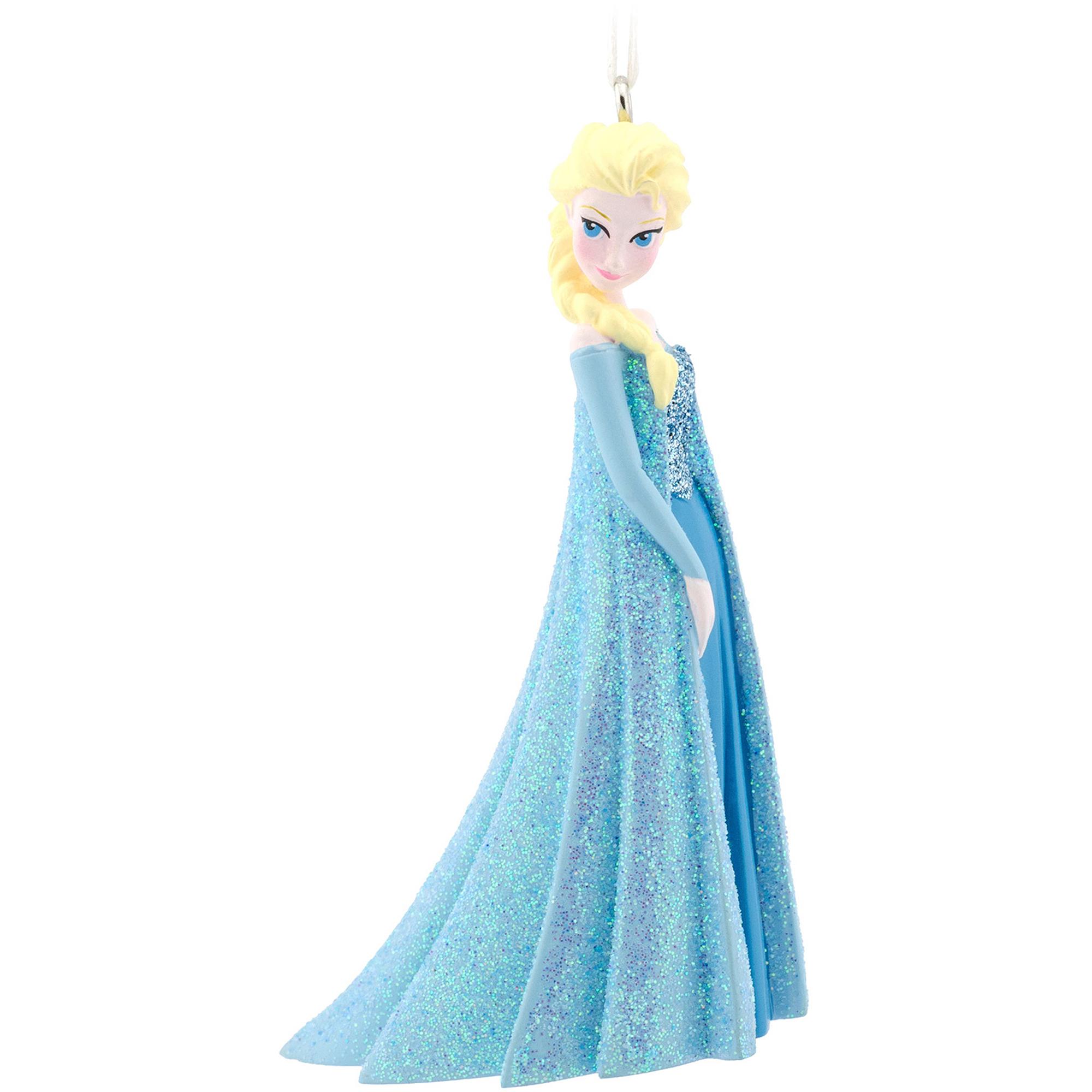 Wondrous Hallmark Disney Frozen Princess Elsa Christmas Ornament Walmart Com Easy Diy Christmas Decorations Tissureus