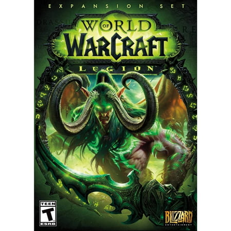 World of Warcraft Legion Expansion Pack, Blizzard Entertainment, PC, (Games Like World Of Warcraft For Mac)