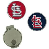 St. Louis Cardinals Hat Clip & Ball Markers Set - No Size