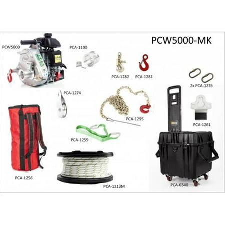 General Purpose Winch - Portable Winch PCW5000-MK Multi-Purpose Kit with Portable Winch
