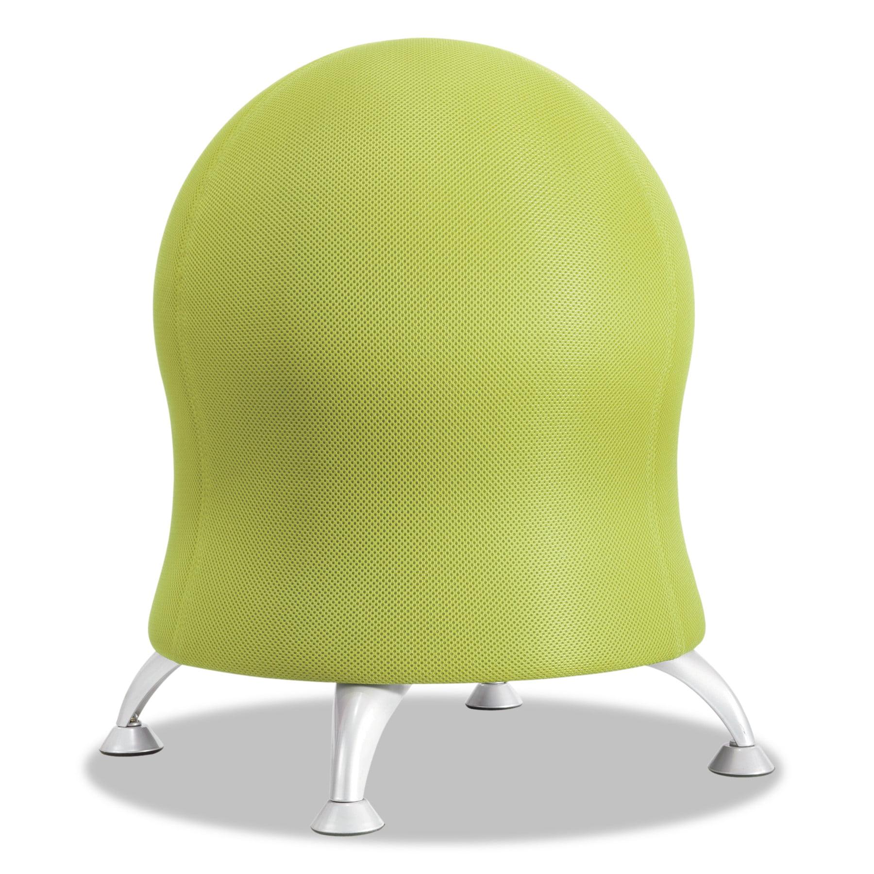 "Safco Zenergy Ball Chair 22 1 2"" Diameter x 23"" High Crimson"