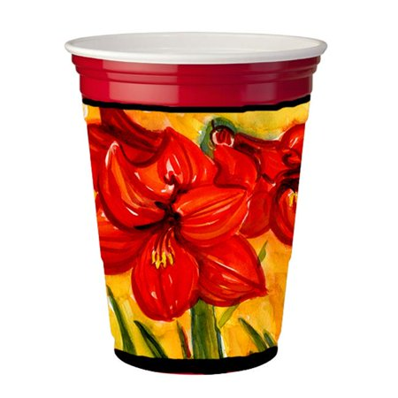 Flower - Amaryllis Red Solo Cup  Hugger - 16 To 22 oz. - image 1 of 1