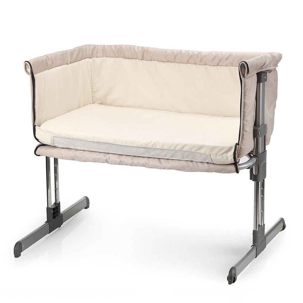miclassic bedside crib travel bassinet easy folding ...