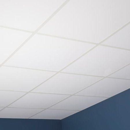 Genesis Smooth Pro White 2 X 2 Ft Lay In Ceiling Tile