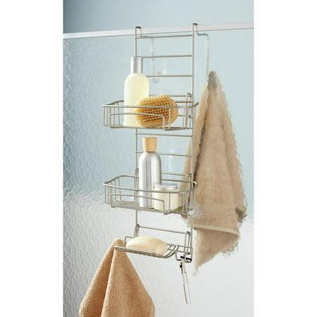 Hawthorne Place Shower Door Caddy, Satin Nickel - Walmart.com