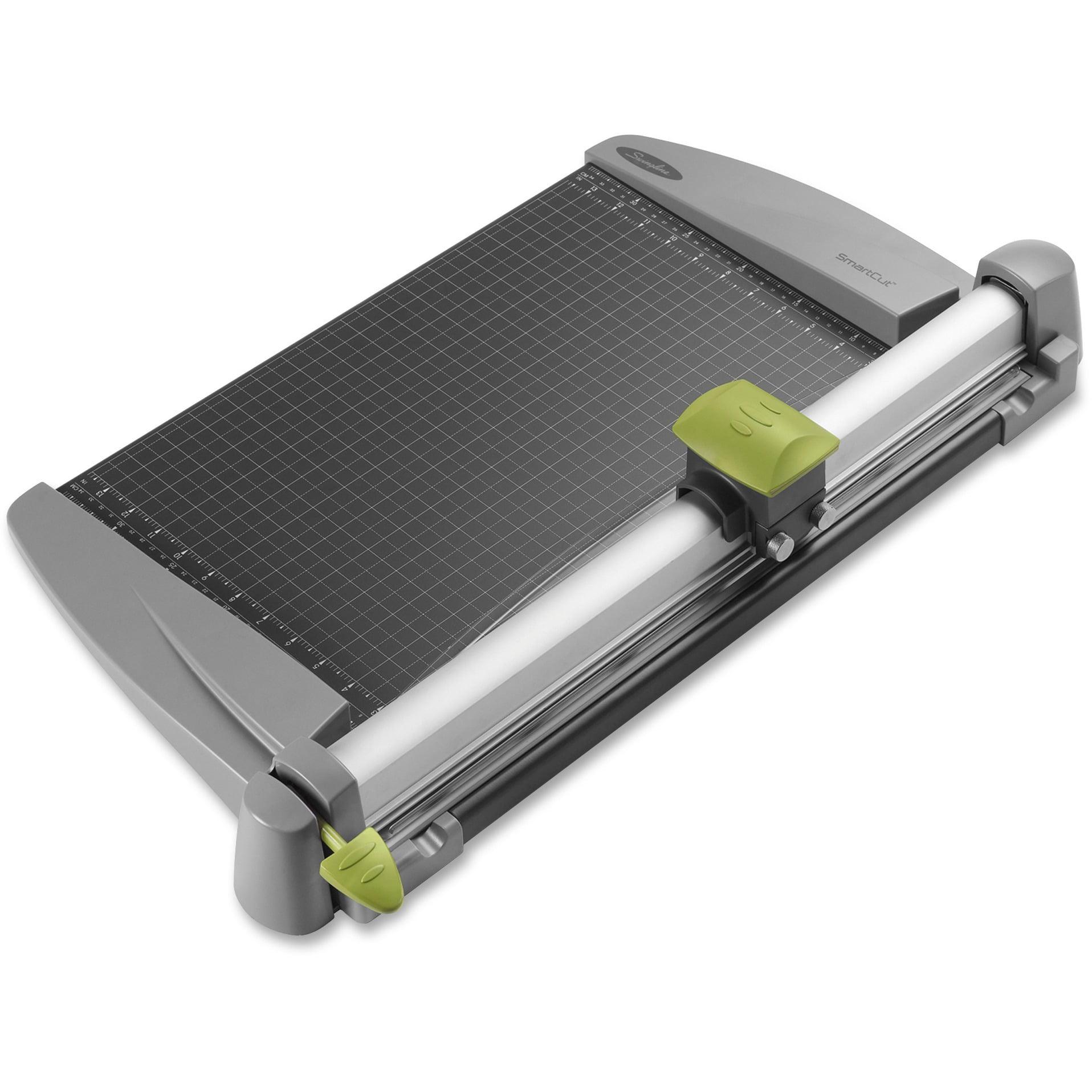 Swingline, SWI9618, SmartCut Heavy-duty Rotary Paper Trimmer, 1 Each, Dark Gray