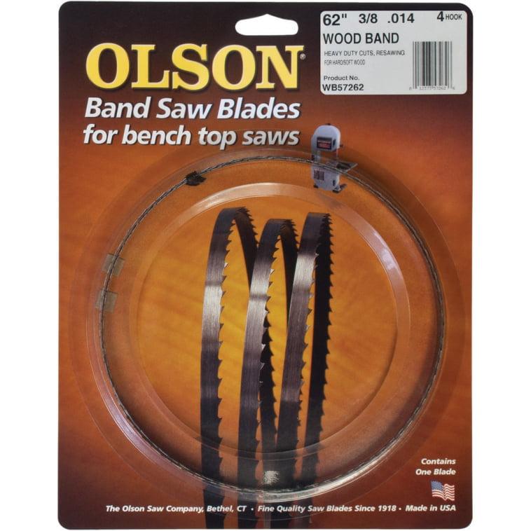 Olson Saw WB57262BL Band Saw Blade, 4 TPI