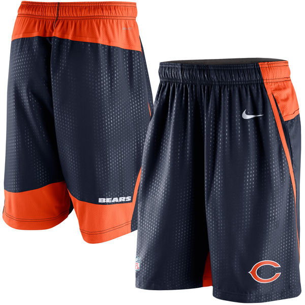 Chicago Bears Nike Men's Dri Fit Performance Fly 3.0 Shorts Small