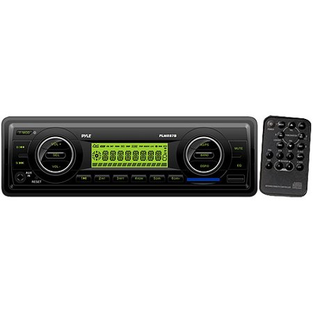 Pyle PLMR87WB in Dash Marine MP3 Weatherband USB/sd Receiver