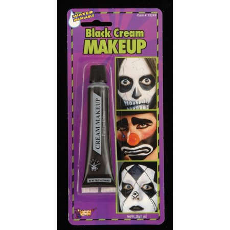 Halloween Black Cream Makeup (Black Makeup Ideas For Halloween)