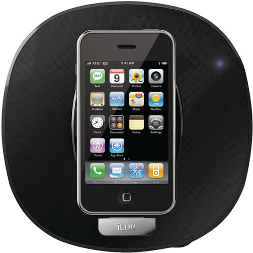 iLuv IMM190BLK App Station dock for iPhone