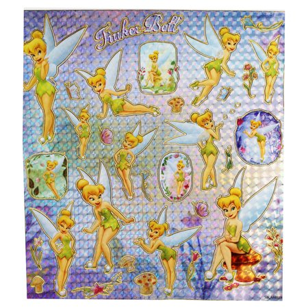 Disney's Tinker Bell Different Poses Sticker Collection (Over 30 Stickers) (Tinkerbell Room Decor)