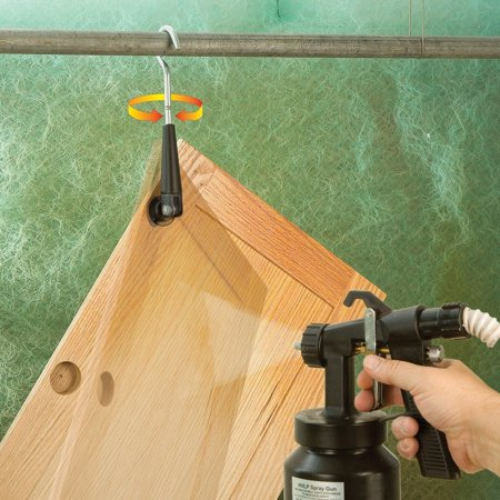 Sure-Hook™ 360, Simply insert the 35mm cam-action locking plug into the door's hinge cup hole. By Rockler Woodworking and Hardware Ship from US