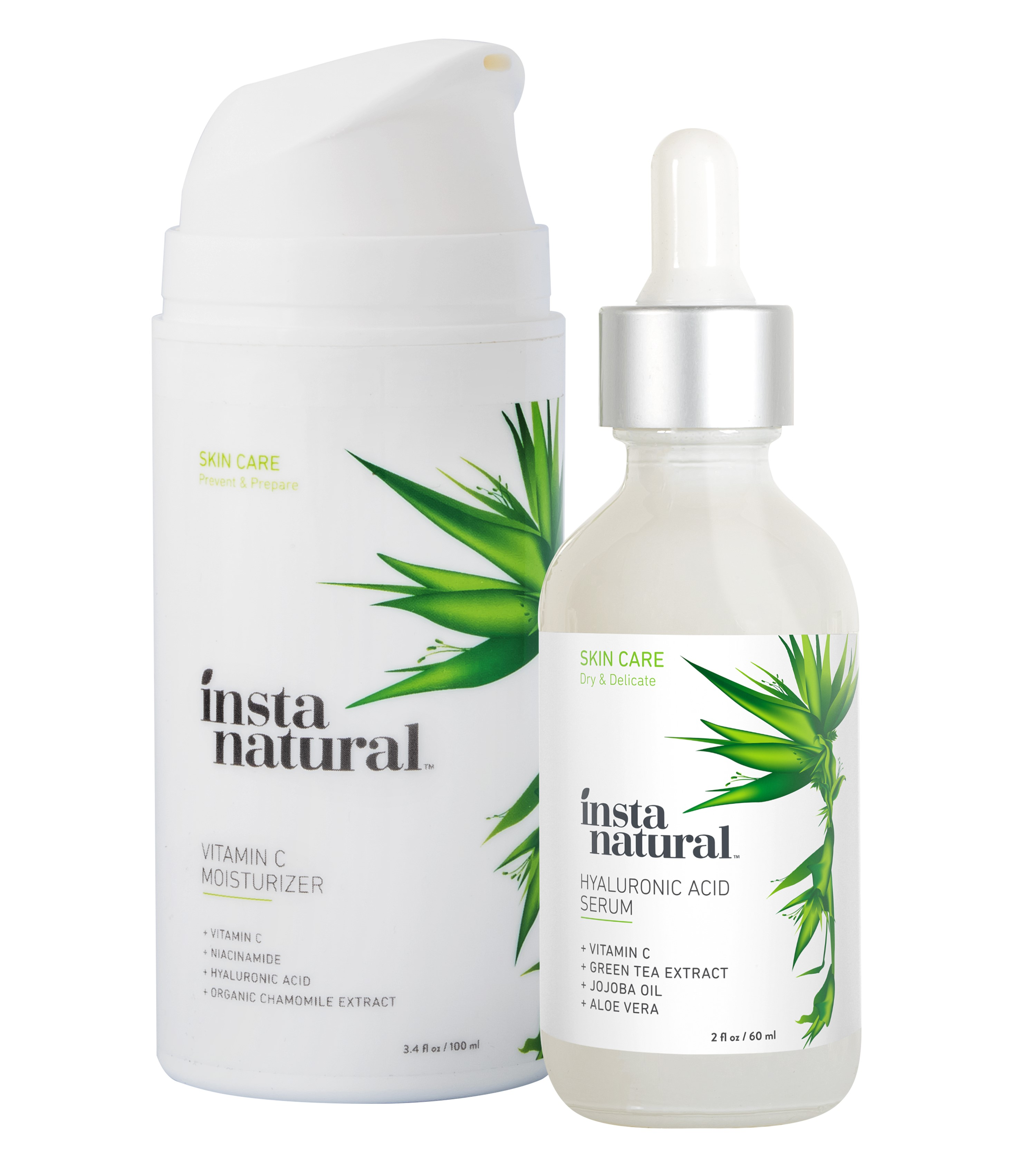 InstaNatural, Niacinamide Serum, 2 fl oz(pack of 4) Dr. Splendid MagiMist Fine Mist Facial Hydrator Atomizer