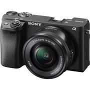 Sony Alpha A6400 4K Wi-Fi Digital Camera + 16-50mm Lens (Black)