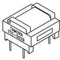 Transformers Audio & Signal 600/600ohm 1dB max 1500Vrms THD (5 pieces)